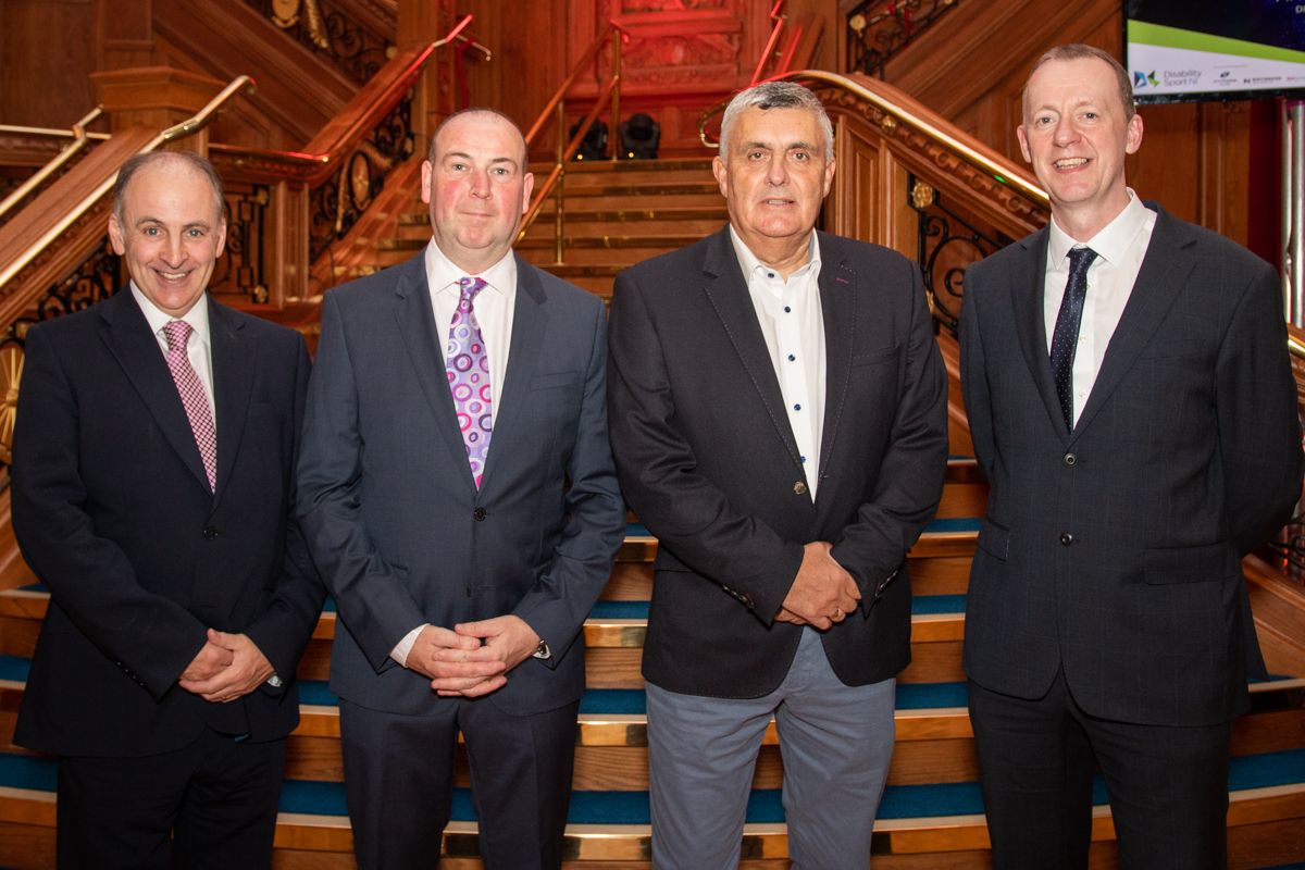 An image of Michael McAteer, Michael Hilland, Alfie Watterson and Kevin O'Neill