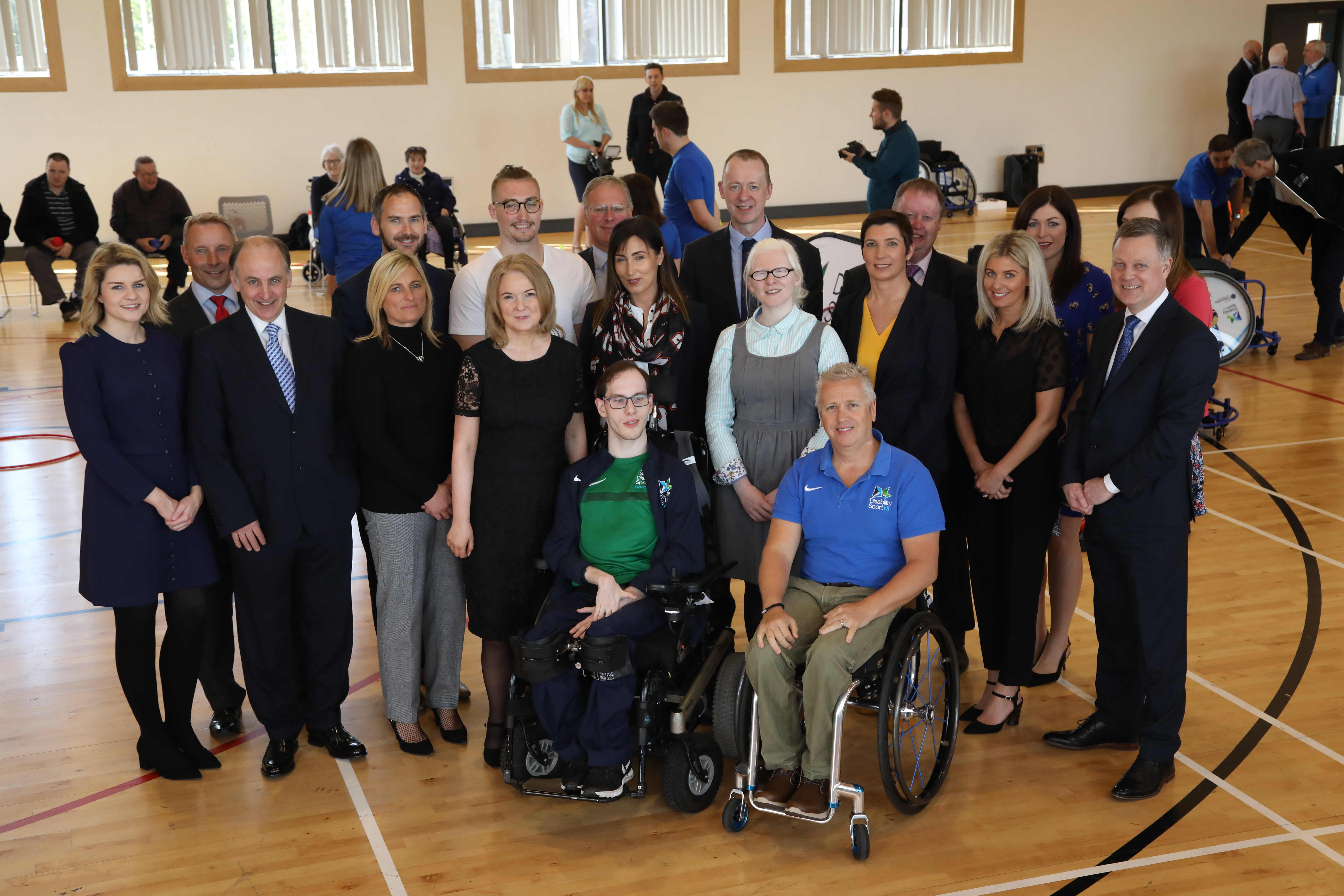 A group image of the Progressive Branch Managers and Disability Sport NI Managers
