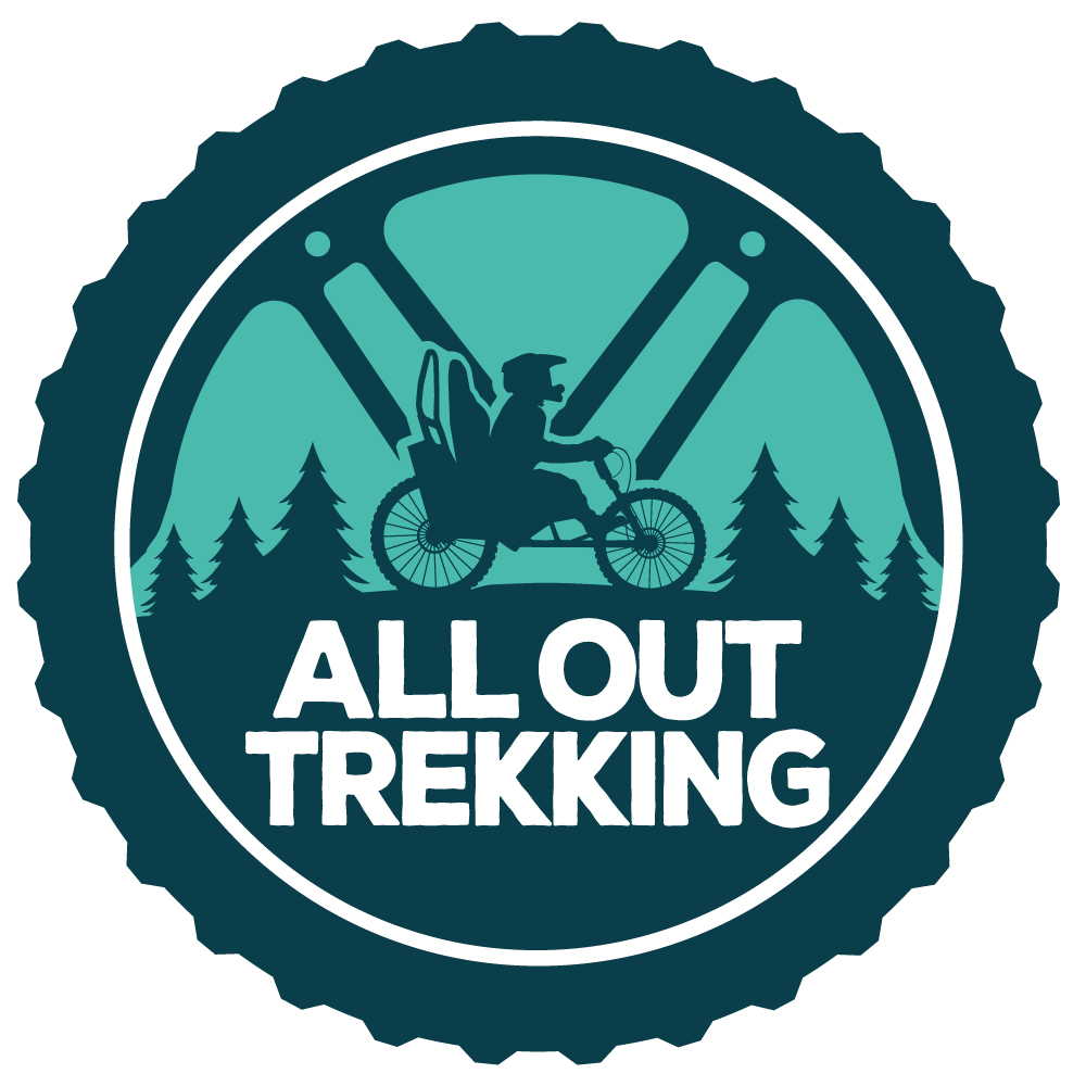 The All Out Trekking Logo