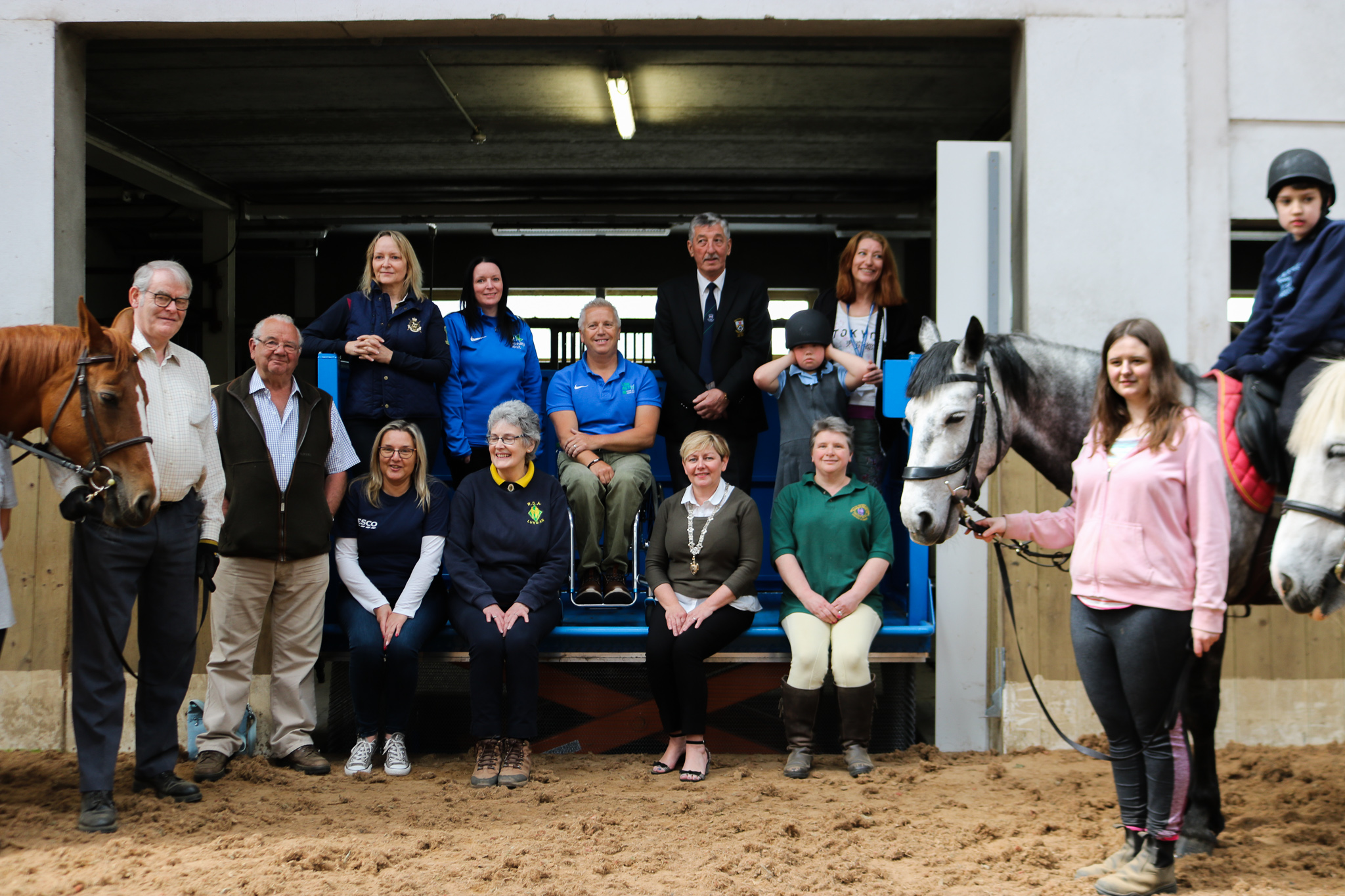 A group image of everyone from the RDA Lift Launch