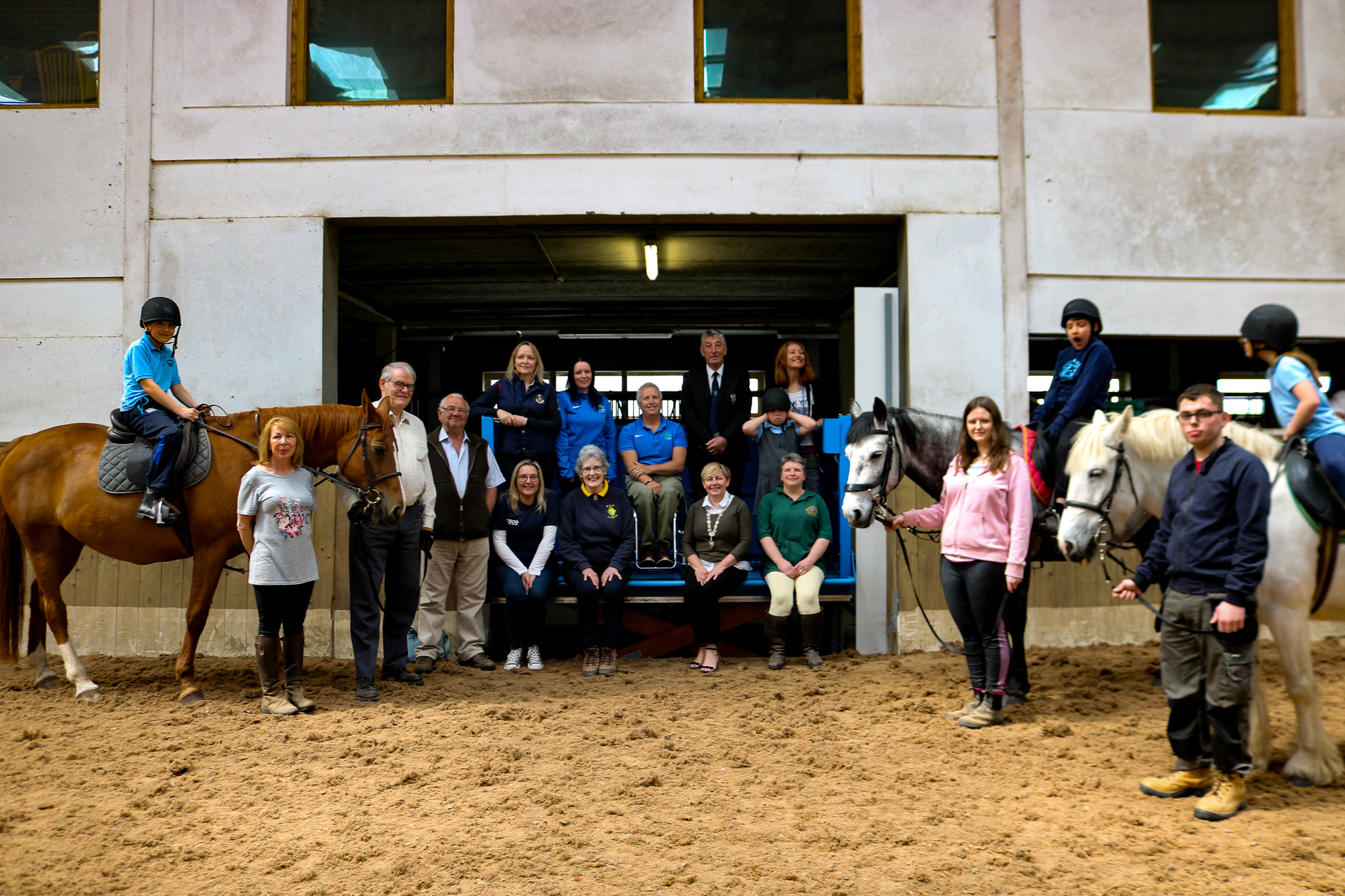 A group image of everyone at the RDA Lift Launch